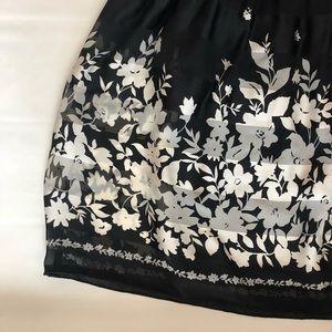 Max Studio Dresses - Max Studio Black Floral Dress